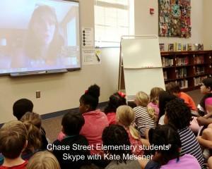 ChaseStElemSchool-SkypeWithKateMessner