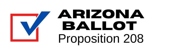 Image: Arizona Ballot Proposition 208