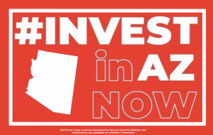 Logo for #INVEST in AZ Now
