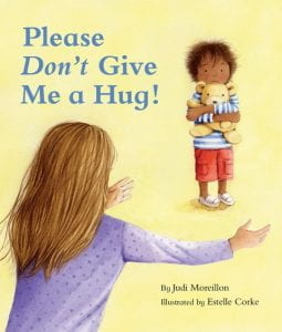 Please Don't Give Me a Hug Book Cover