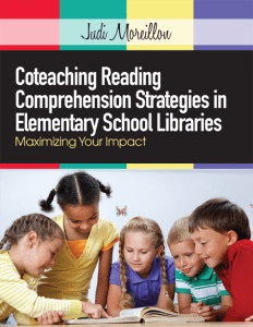 Coteaching Reading Comprehension in Elementary School Libraries (ALA 2013)